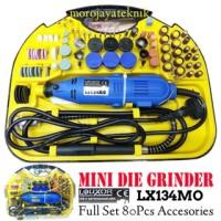 harga Bor Mini Die Grinder Full Set Alat Tuner Merk Louxor Germany Tecnologi Tokopedia.com
