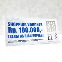 harga e-Voc EL.S 100.000 Tokopedia.com