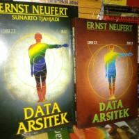 Data arsitek 1 set buku 1 dan 2 by ernest neufert