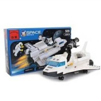 Lego enlighten space pesawat ulang alik kecil 3 in 1
