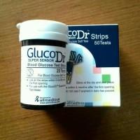 harga Strip Glucodr Super Sensor Tokopedia.com