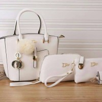 Tas Wanita Import (Christian Dior Set 3 In1)