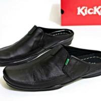 Sandal Kickers Bustong Kulit Asli / Sendal Sepatu Pria