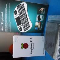 harga Raspberry Pi 3 model B + Casing + QWERTY wireless keyboard w/touchpad Tokopedia.com