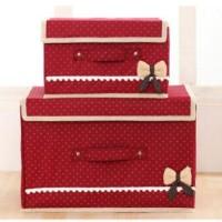 2 In 1 Multifunction Box Storage Box 555 (1set Isi 2box Ukuran Berbeda