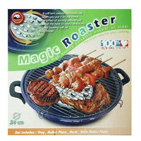 Jual Alat Pemanggang BBQ Maspion 34 cm Magic Roaster / bbq Murah