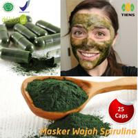 Masker Wajah Natural - Perawatan Kecantikan Kulit - Masker Spirulina