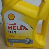 Oli Shell HX5 SAE 15w/40 Galon 4 Liter