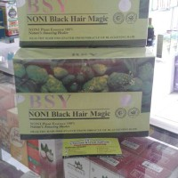 BSY Shampoo / Shampo / Sampo Noni Black Hair Magic ori semarang