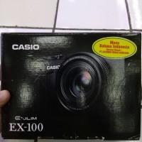CASIO EXILIM EX-100 RESMI