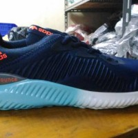 Sepatu Adidas Alpha Bounce Navy Vietnam Grade Ori Man Cowok Pria 40-44