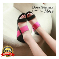 Promo Murah Sendal Flat Poppy, Sandal Flat Poppy, Sandal Flat Wanita