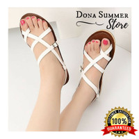 Promo Sendal Zara Murah, Sandal Zara, Sandal Flat, Sendal Flat Wanita