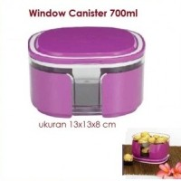 Window Canister Tupperware