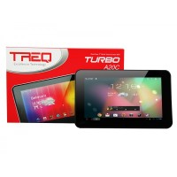 CUCI GUDANG TABLET TREQ WIFI ONLY TURBO A20C 16GB FREE LEATHERCASE