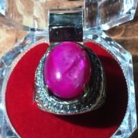 harga Cincin Titanium Batu Fosil Ruby Kerang HQ Tokopedia.com