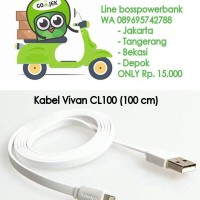 Jual Kabel Vivan CL 100 iphone Lightning Murah