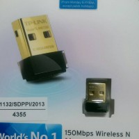 TP LINK TL WN725N Nano USB Wireless Adapter 150 Mbps