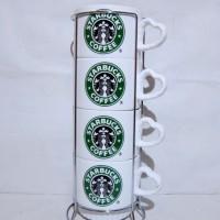 Gelas kramik Starbuck susun 4