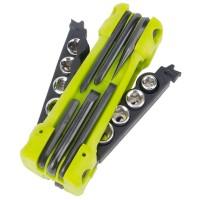 Jakemy JM-PJ1004 17 In 1 Multifunction Outdoor Folding Screwdriver Kit