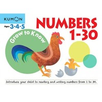 Kumon Grow To Know Numbers 1-30 (Ages 3, 4, 5)