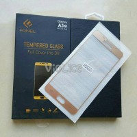 FONEL Samsung A5 2016 / A510 / A56 GOLD Full Cover Tempered Glass