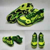 UA Anatomix Spawn 2 Low Green / Sepatu basket Under Armour Anatomix