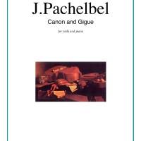 Buku Viola dan Piano Canon in D and Gigue by Johann Pachelbel