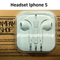 Headset / Head Set Earphone Ear Phone Apple Iphone 5 5S 5C 5G ORI Cina