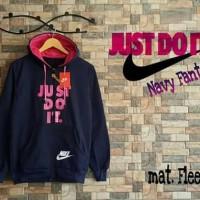 Nike Just Do It Navy Fanta Jaket Sweater