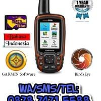 GPS GARMIN GPSMAP 64s + 8GB Memory + Peta Indonesia