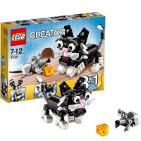 Jual LEGO Creator 3 in 1 - 31021 Furry Creatures Rabbit Dog Puppy Cat Mouse Murah
