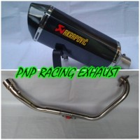 harga Knalpot Racing Akrapovic Layang Fullsystem Yamaha Byson, Scorpio Tokopedia.com