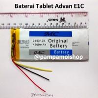 Baterai Tablet Advan E1C Original China | Cina, Batre, Batrai, Advance