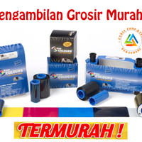 Ribbon Colour Printer Id Card Zebra P330i