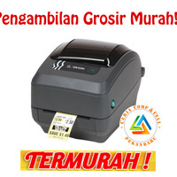 Printer Barcode Label Termal Transfer Zebra Gk420t