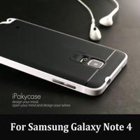 Ipaky Samsung Galaxy Note 4 Slim Armor Bumper Case Original 100% Ipaky