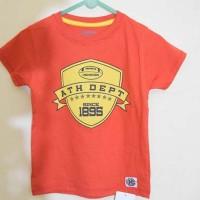 Osh Kosh - Kaos Lengan Pendek Anak Branded Oranye Ath Dept