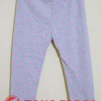 Fisher Price - Celana Legging Anak Branded Abu-abu Motif Bintang Pink
