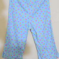 Fisher Price - Celana Legging Anak Branded Biru Motif Polkadot