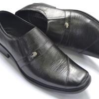 Sepatu kulit kerja pria branded crocodile 002