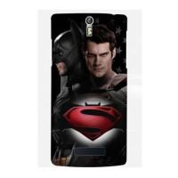 Casing HP Superman VS Batman Oppo R3/Find 5 Custom case Handphone