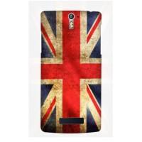 Casing Hp Bendera Inggris Oppo R3/Find 5