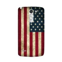 Casing HP Bendera Amerika LG G3/G4 Stylus Case Flag Handphone