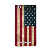 Casing HP Bendera Amerika Xiaomi Mi 4i/4c Custom Case Flag Handphone