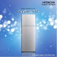 KULKAS 2 PINTU HITACHI TYPE R-H24PGD4SLS