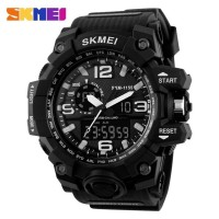 Jam Tangan Pria Original Skmei Model G-shock Anti Air warna Putih