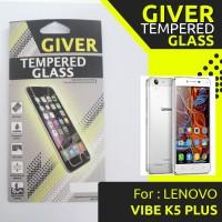 TEMPERED GLASS GIVER LENOVO VIBE K5 PLUS