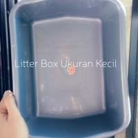 Litter Box Kecil (Box Tempat Pup Pipis) Kucing Kelinci Hamster