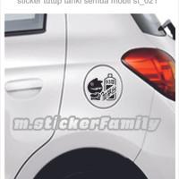 harga sticker mobil sticker tutup tangki mobil ts-021 Tokopedia.com